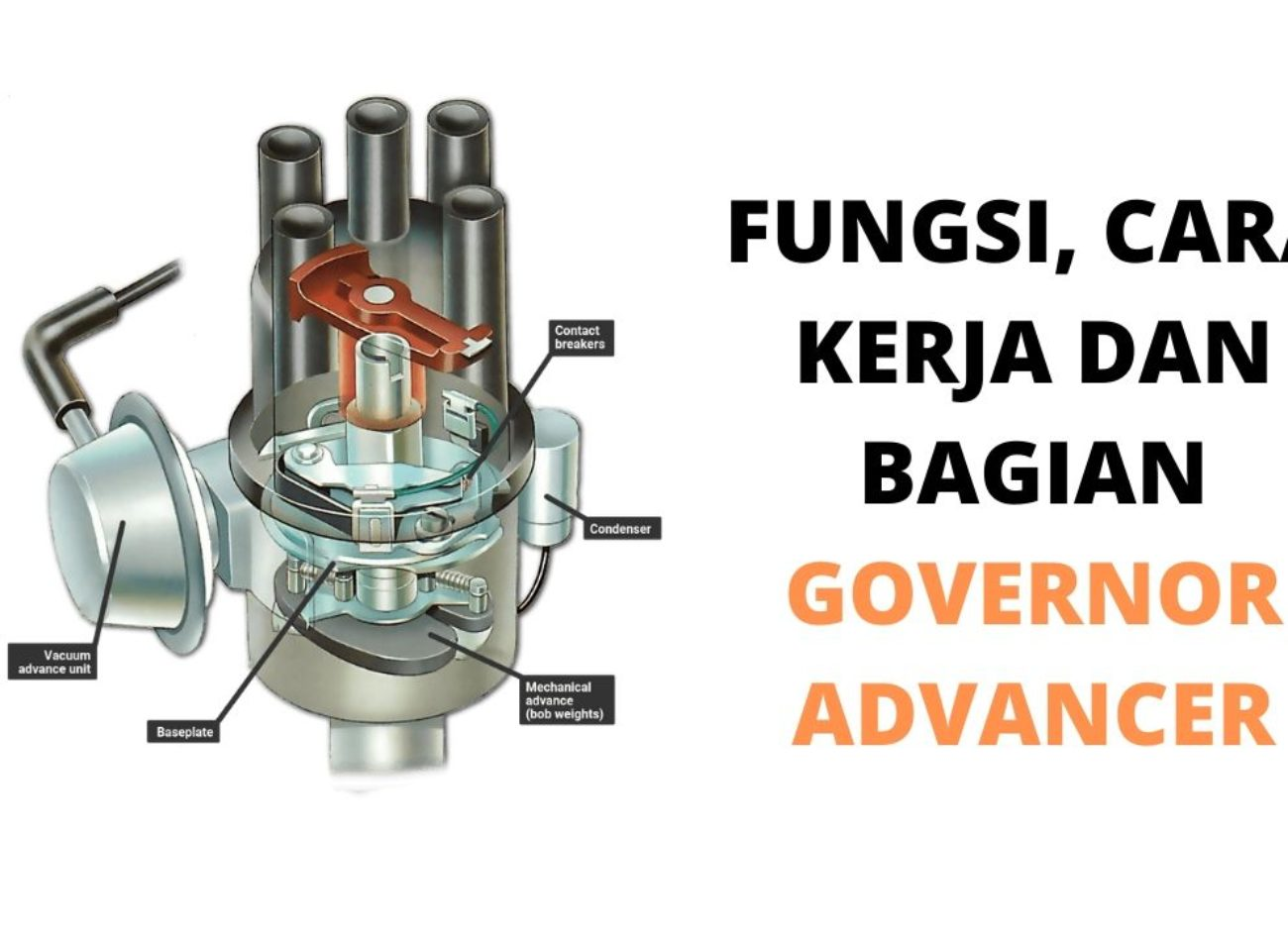 fungsi, cara kerja governor advancer