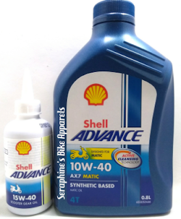 Harga Shell Advance Scosoter Matic AX7