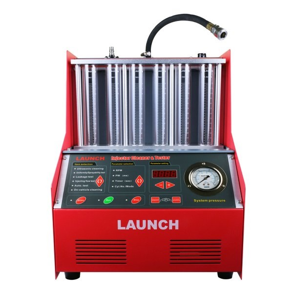 Injector cleaner tester