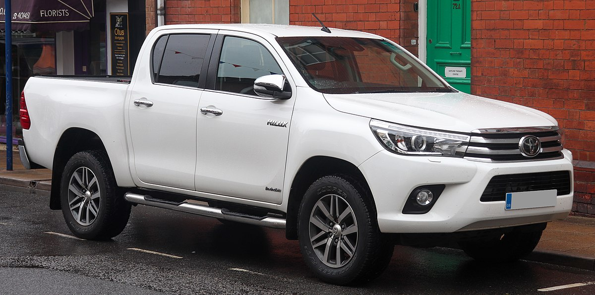 Mobil Double Cabin - Toyota Hilux